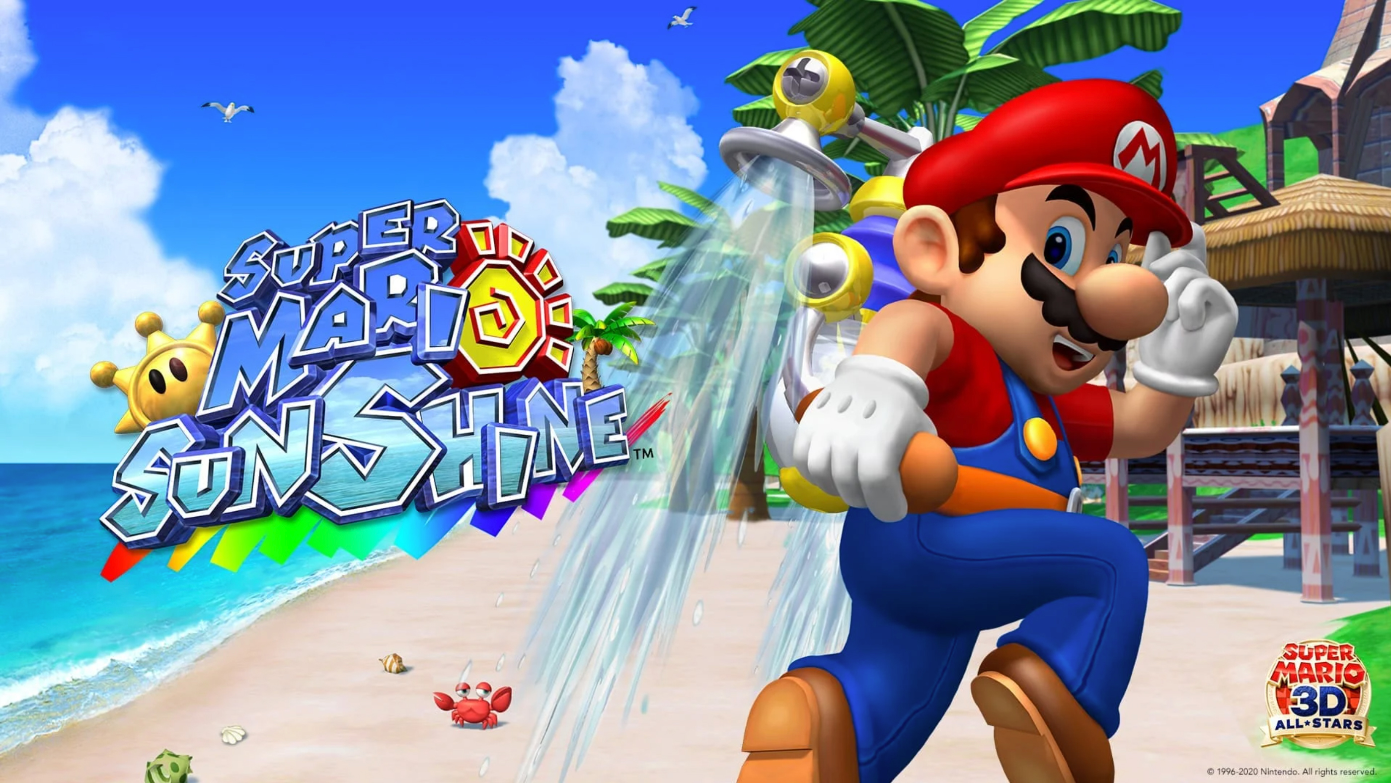 super mario sunshine super mario 3d all-stars