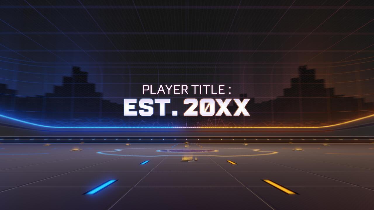 rocket league player title