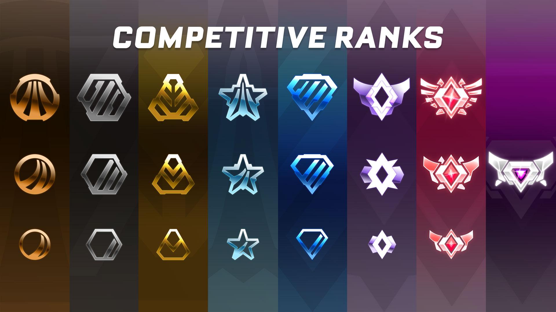 rocket league competitive ranks