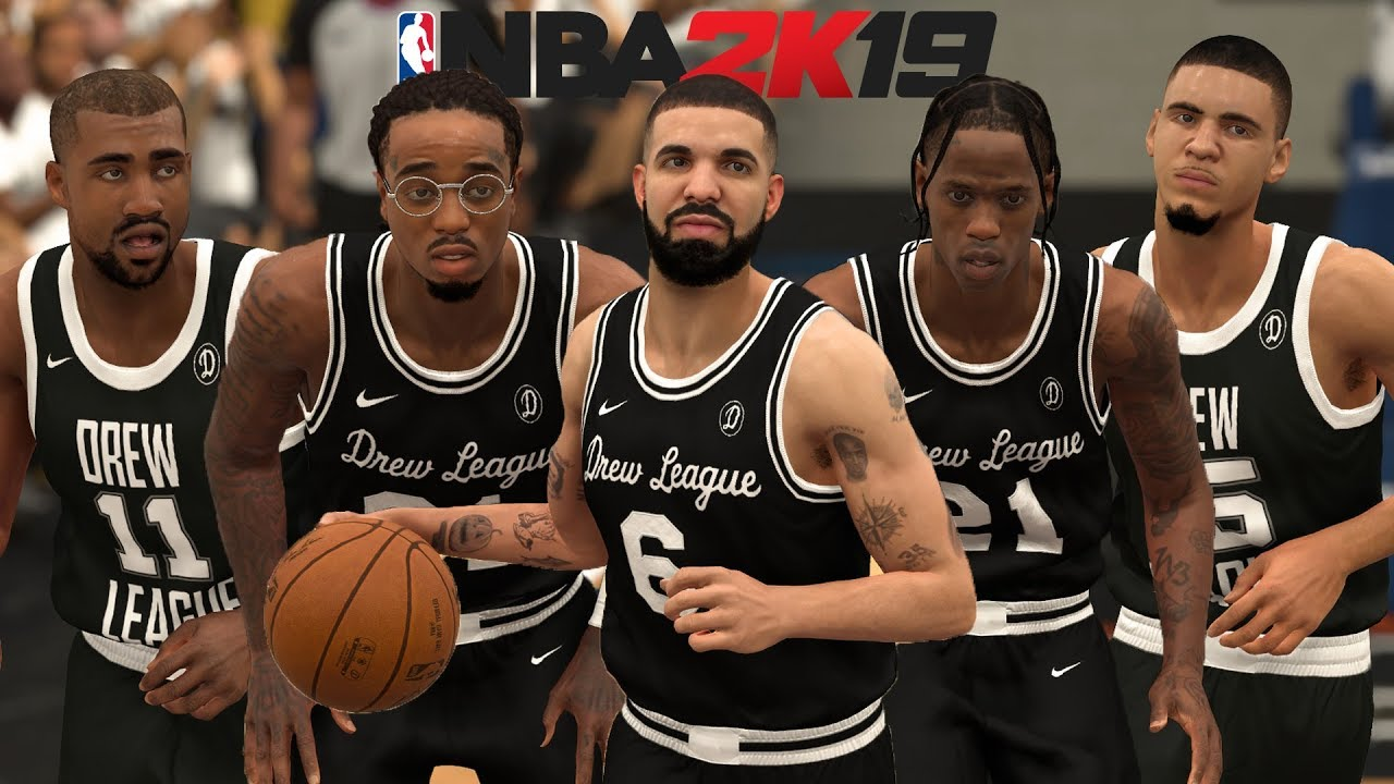 rappers in nba 2k19 video game