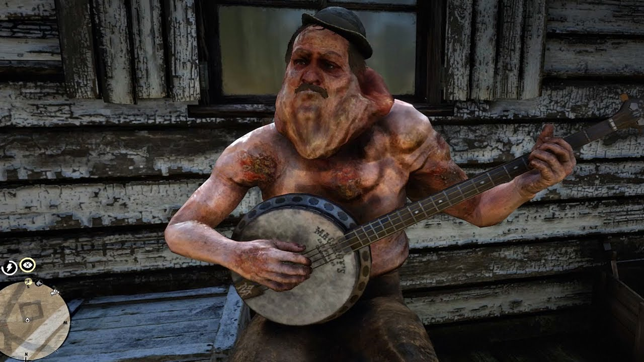 deformed banjo player red dead redemption 2