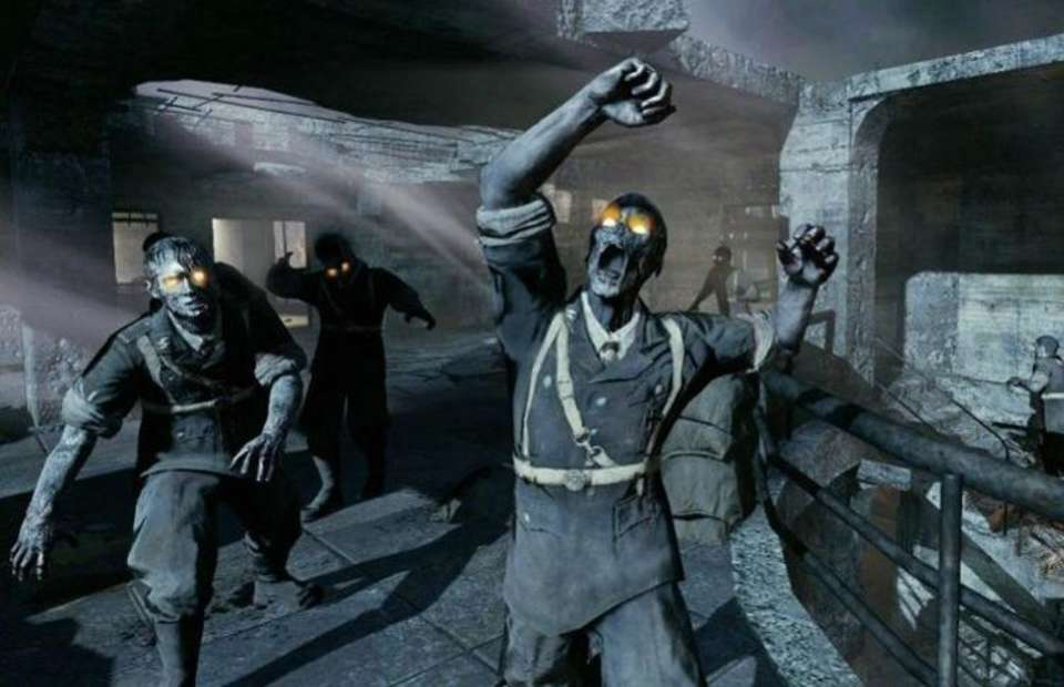 zombies in call of duty video game