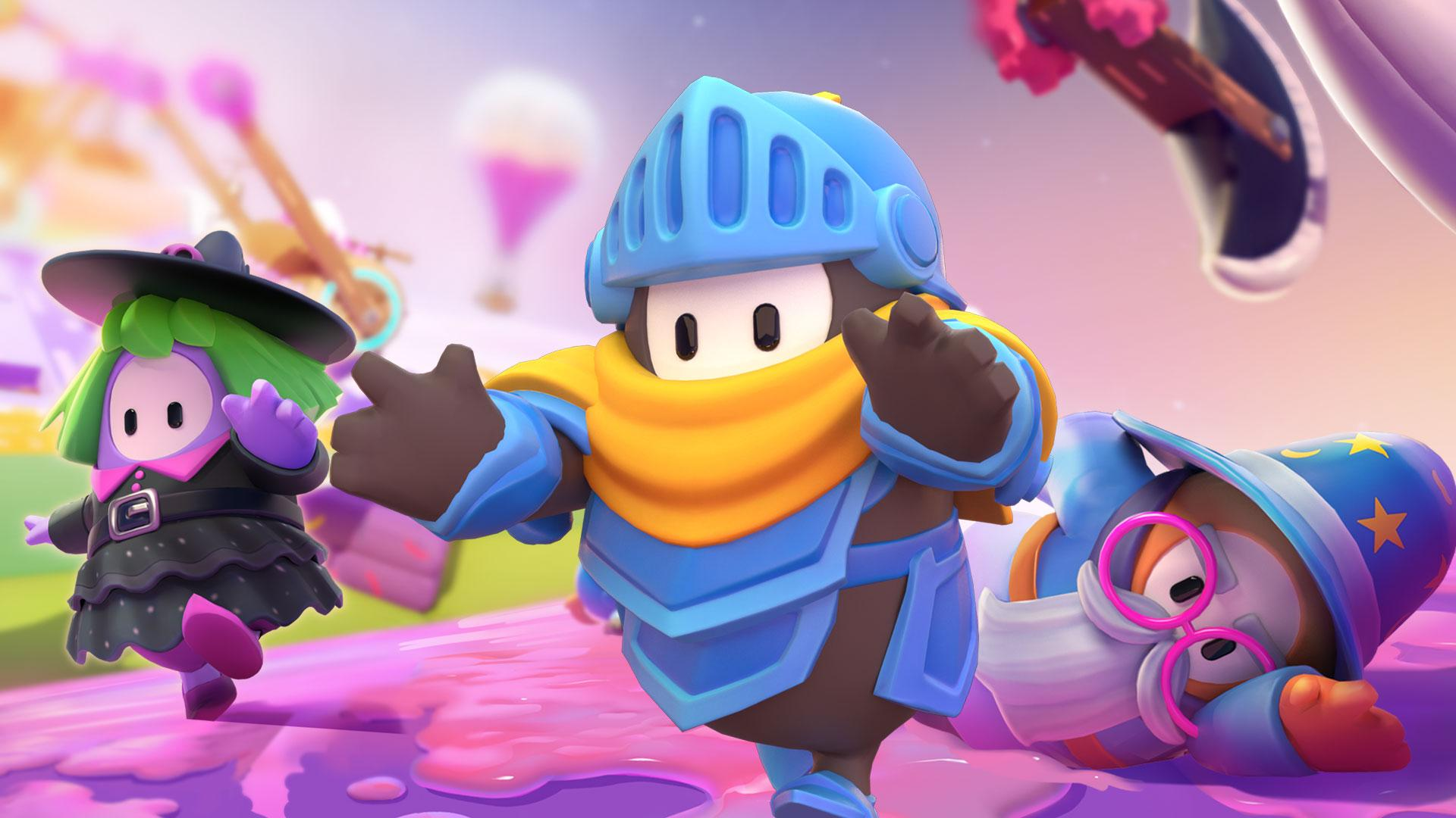 fall guys season two knight fever video game