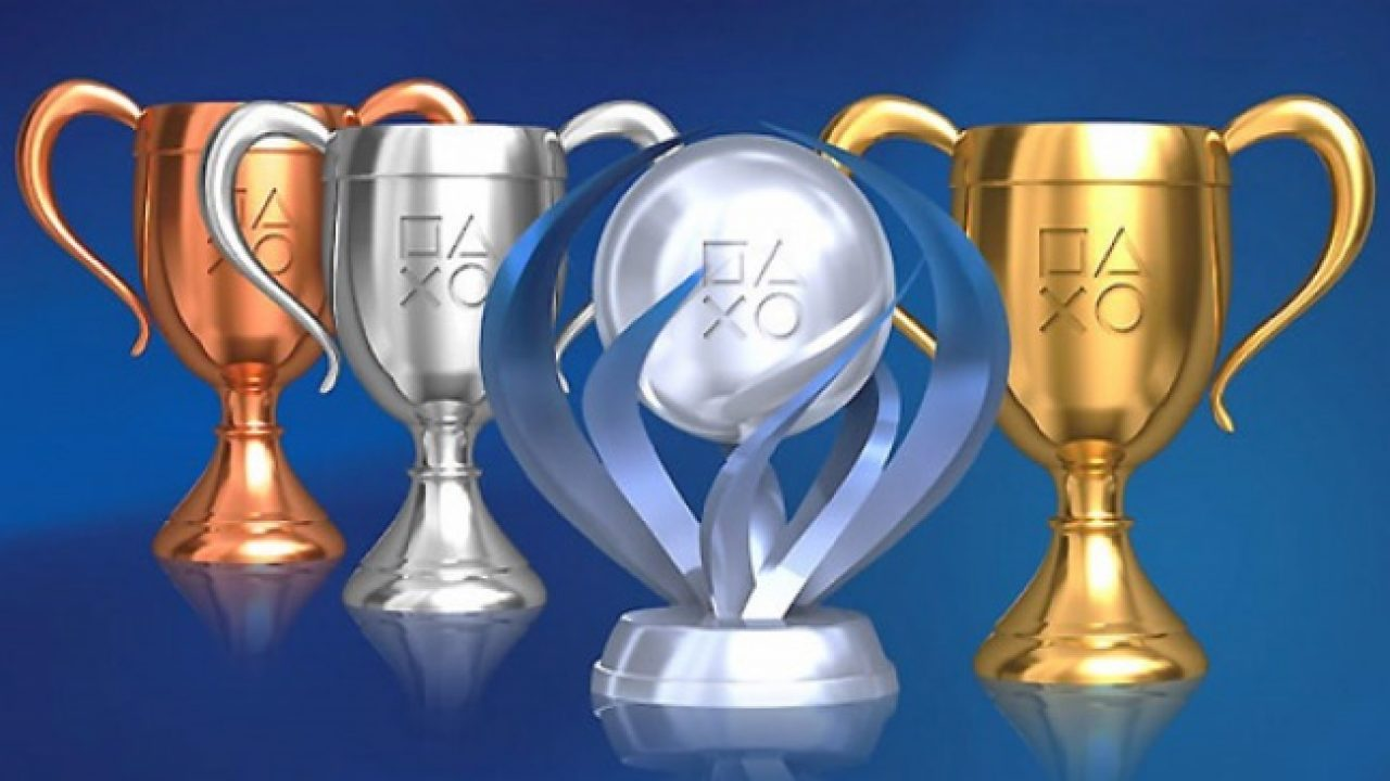 sony playstation trophies