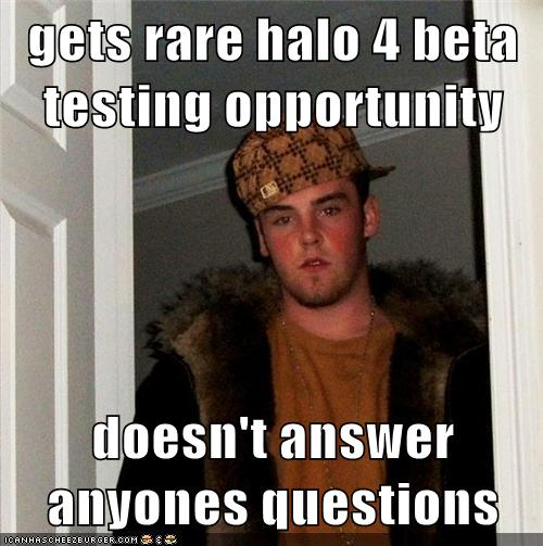 halo 4 video game - gets rare halo 4 beta testing opportunity doesn't answer anyone's questions