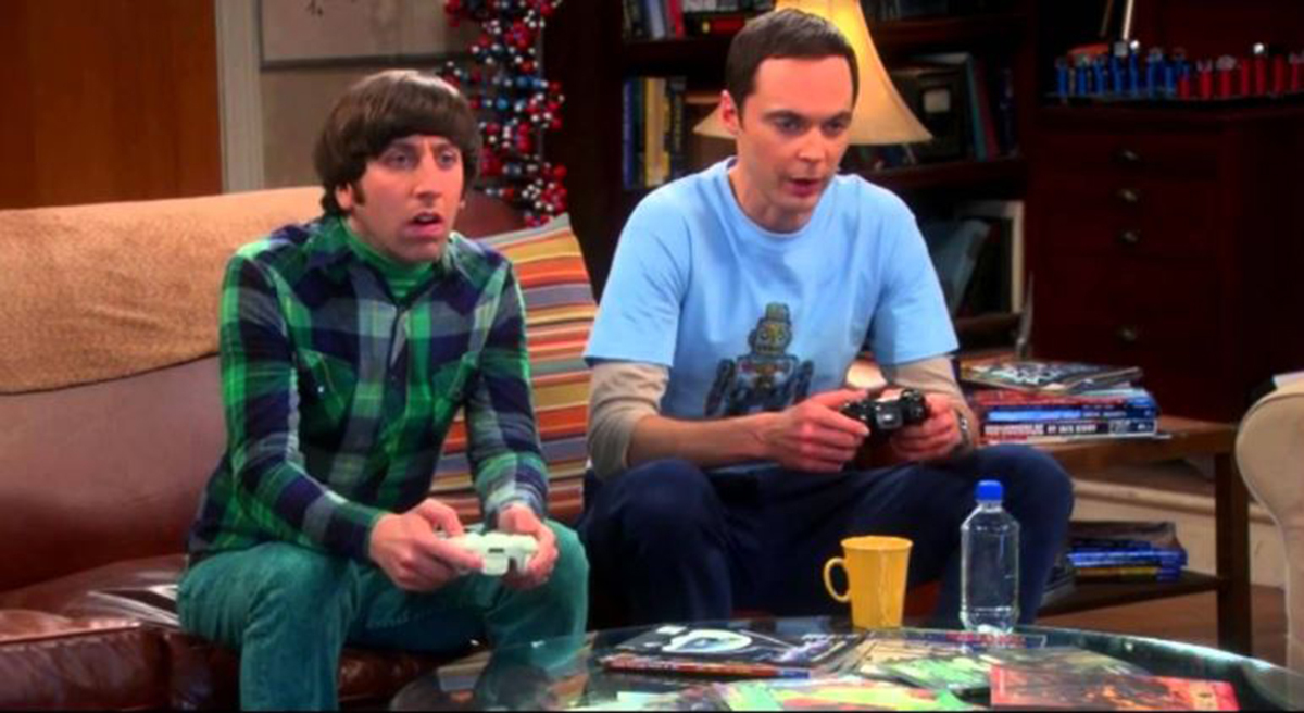 big bang theory halo video games