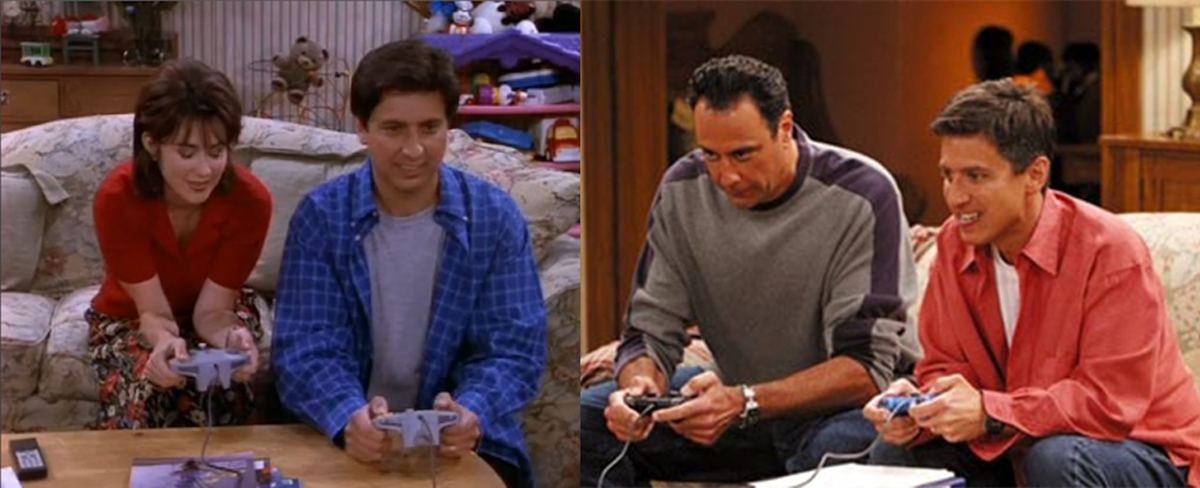 everybody loves raymond playing video games