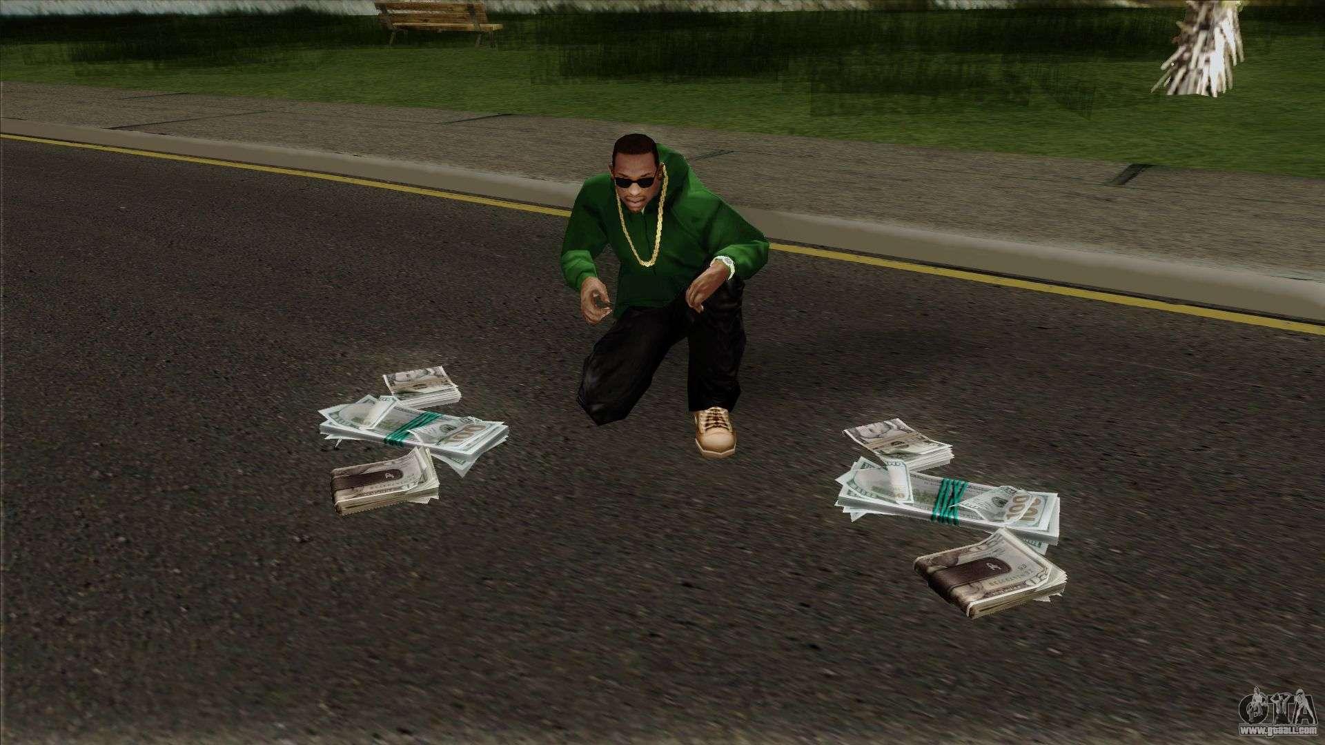 grand theft auto money video game