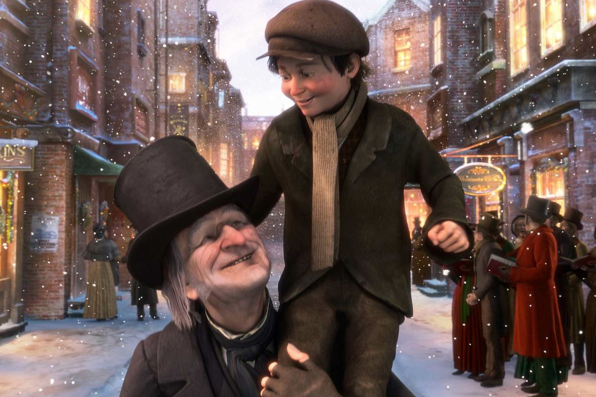 tiny tim christmas carol movie