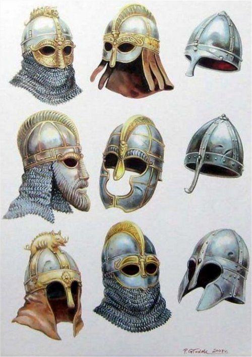 viking round helmet