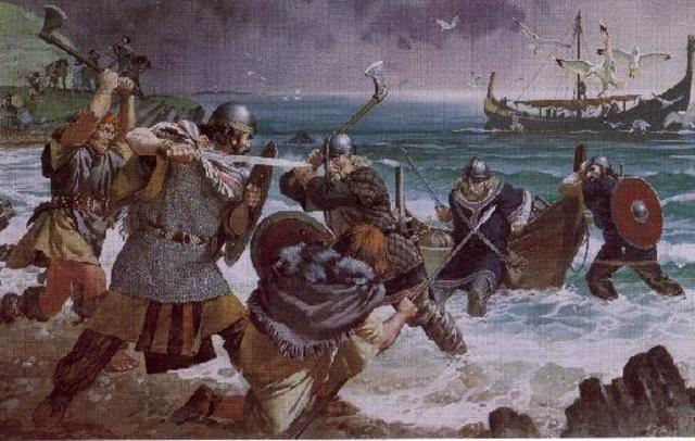 viking pirate raid