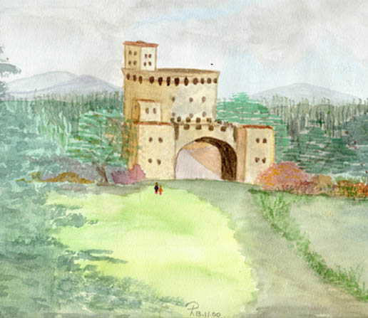 Paola's castle painting