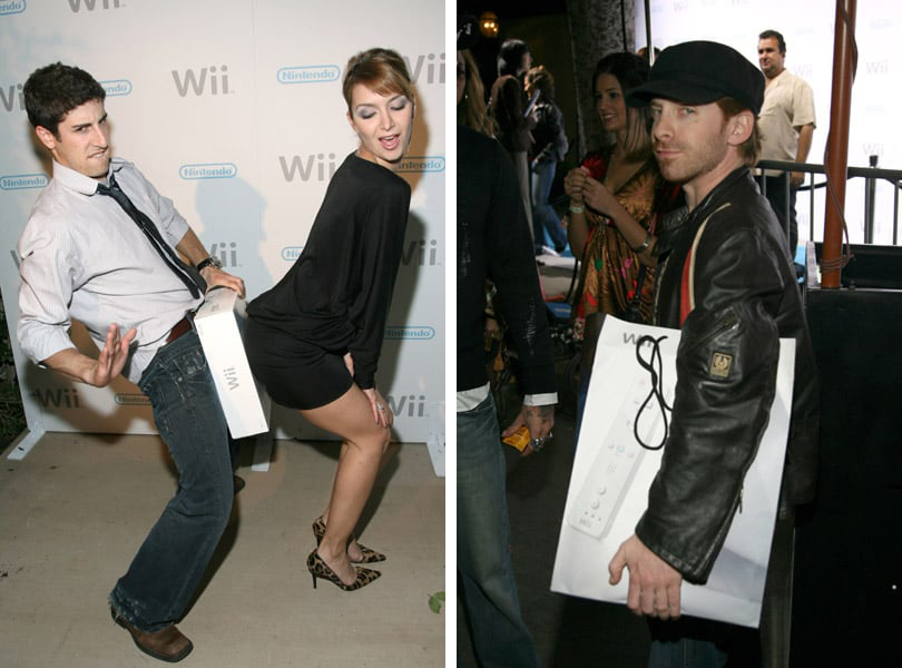 jason biggs nintendo wii seth green