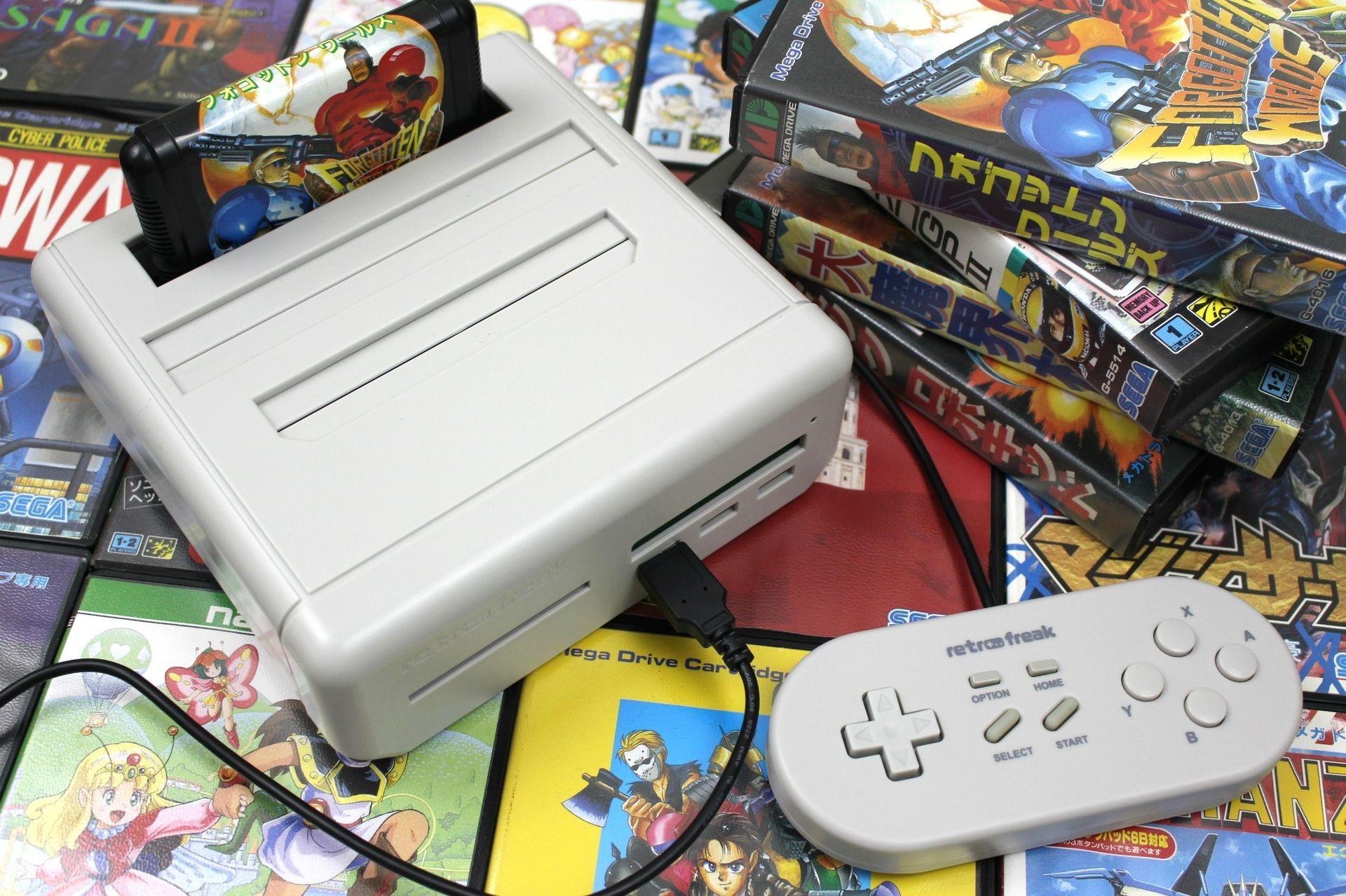 fpga video game console