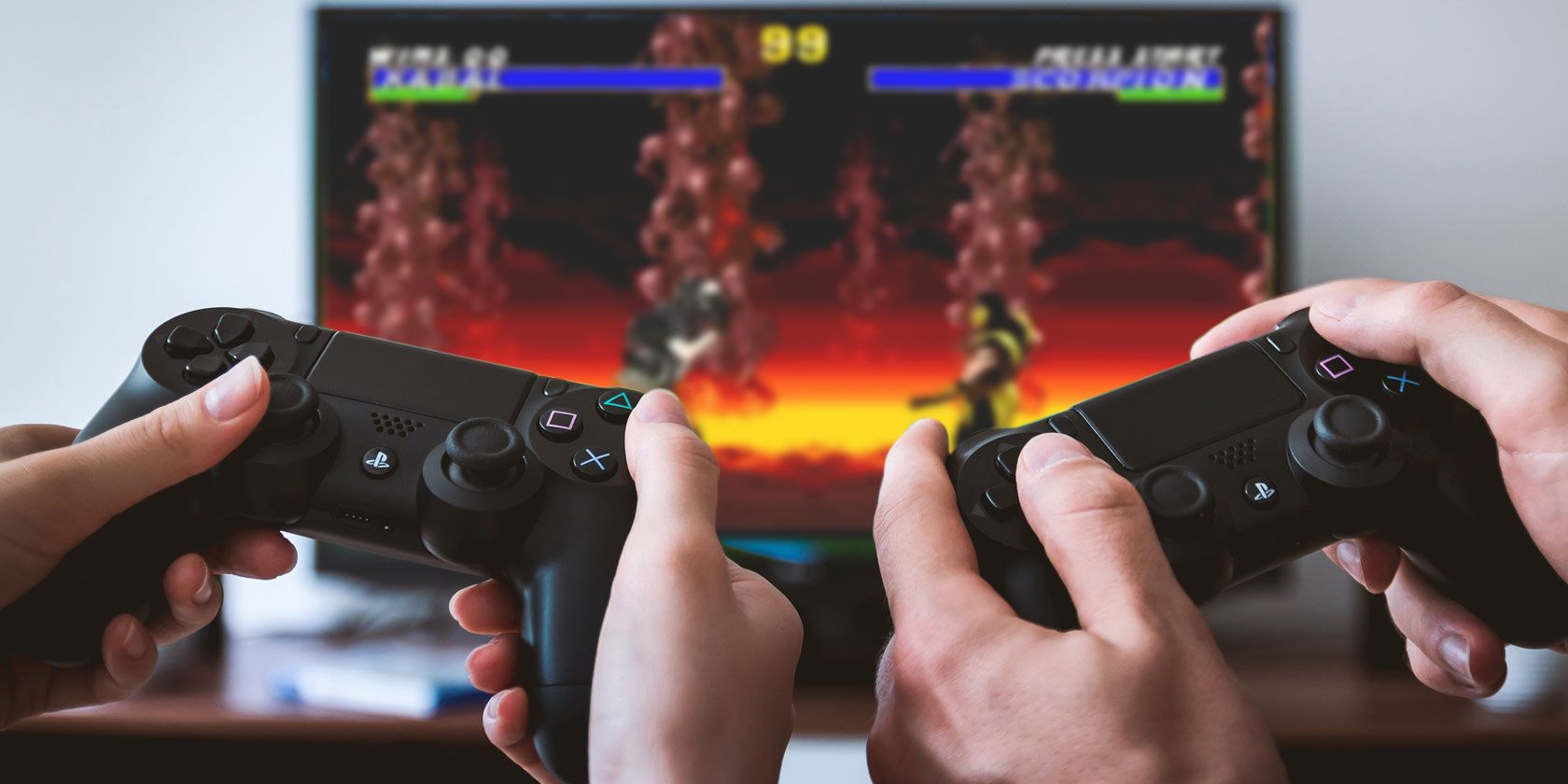 playstation 4 controllers play retro video games
