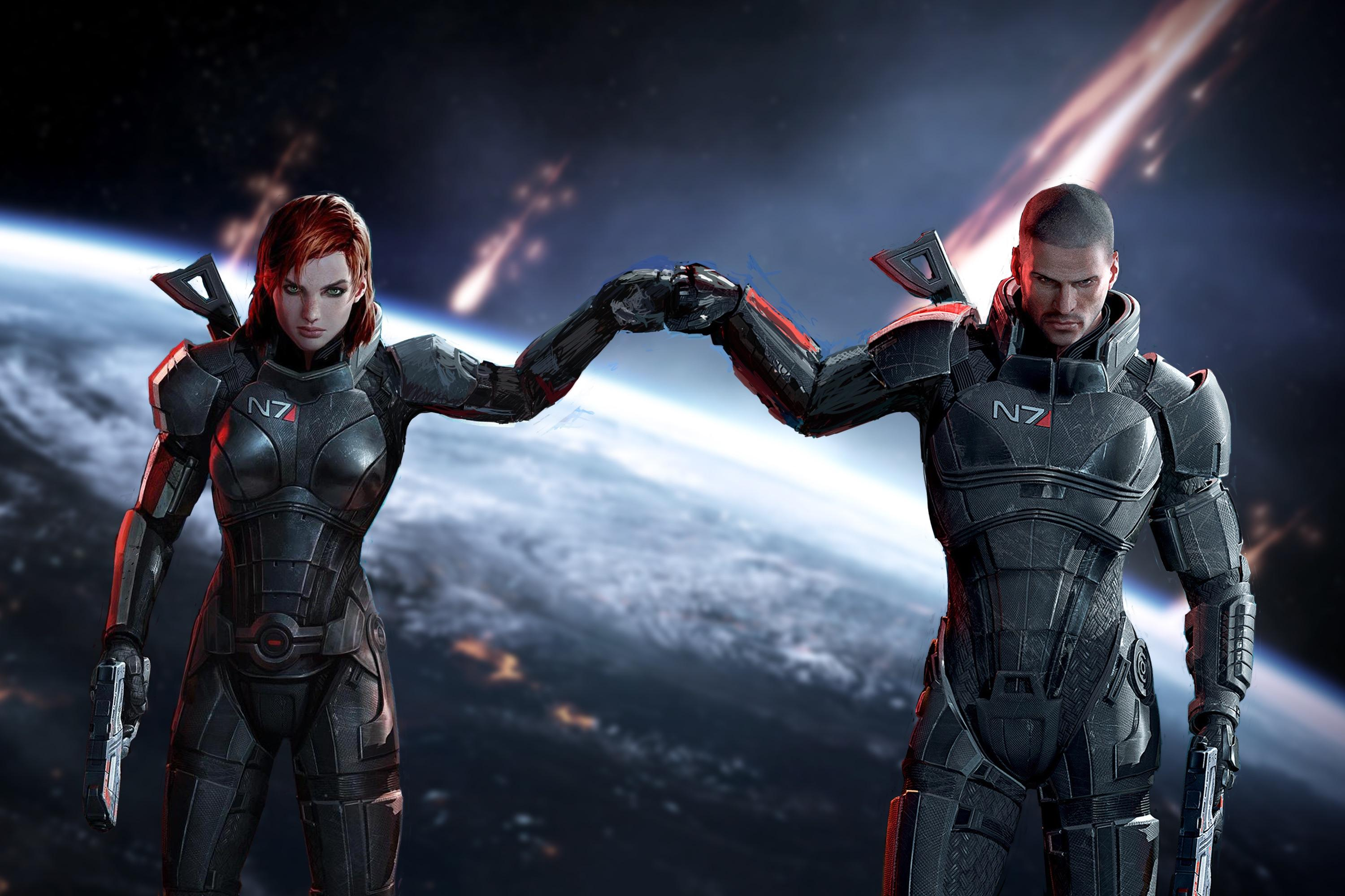 mass effect video game
