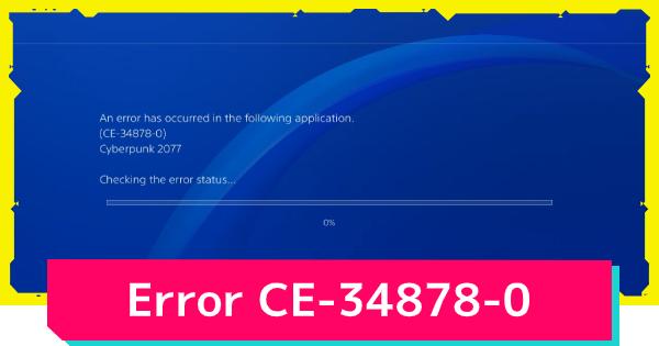playstation error message