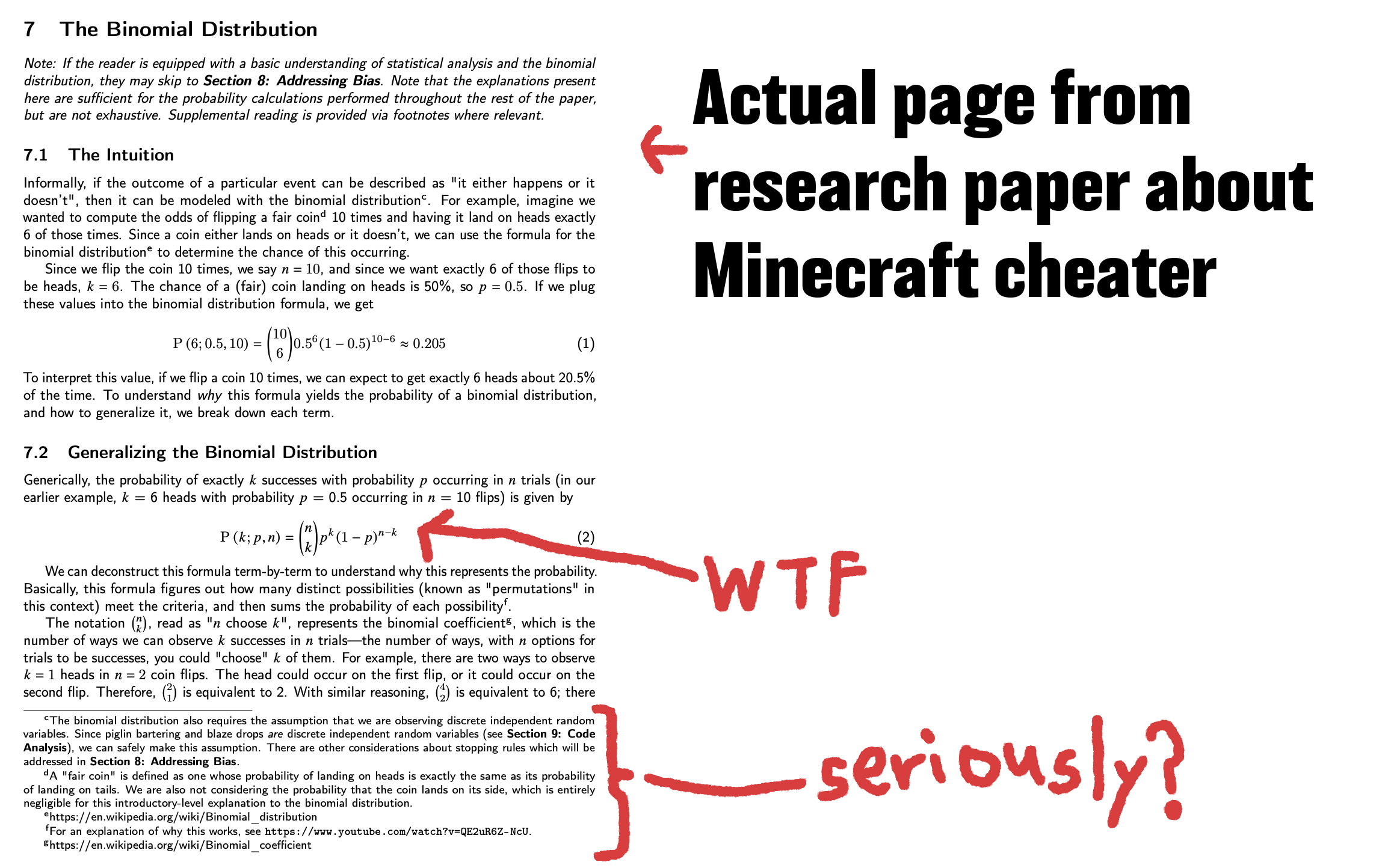 cheating paper