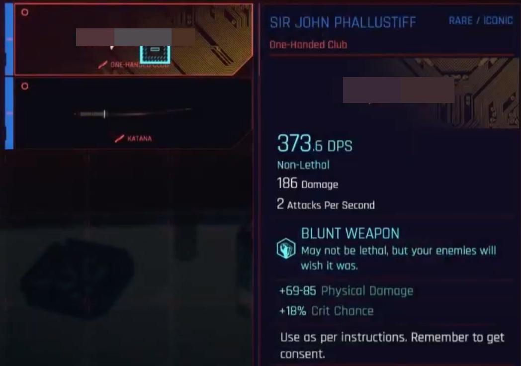cyberpunk 2077 dildo