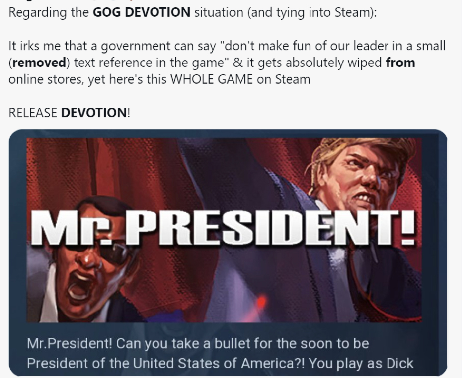 mr. president video game