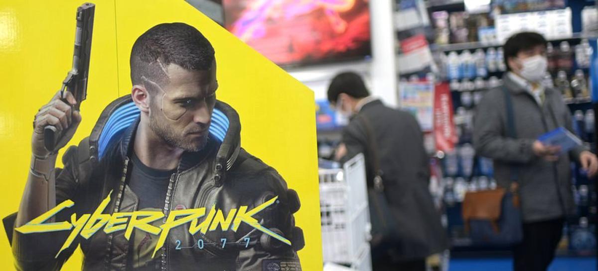 cyberpunk 2077 stor display