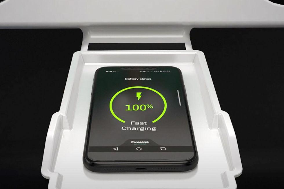 panasonic wireless phone charger