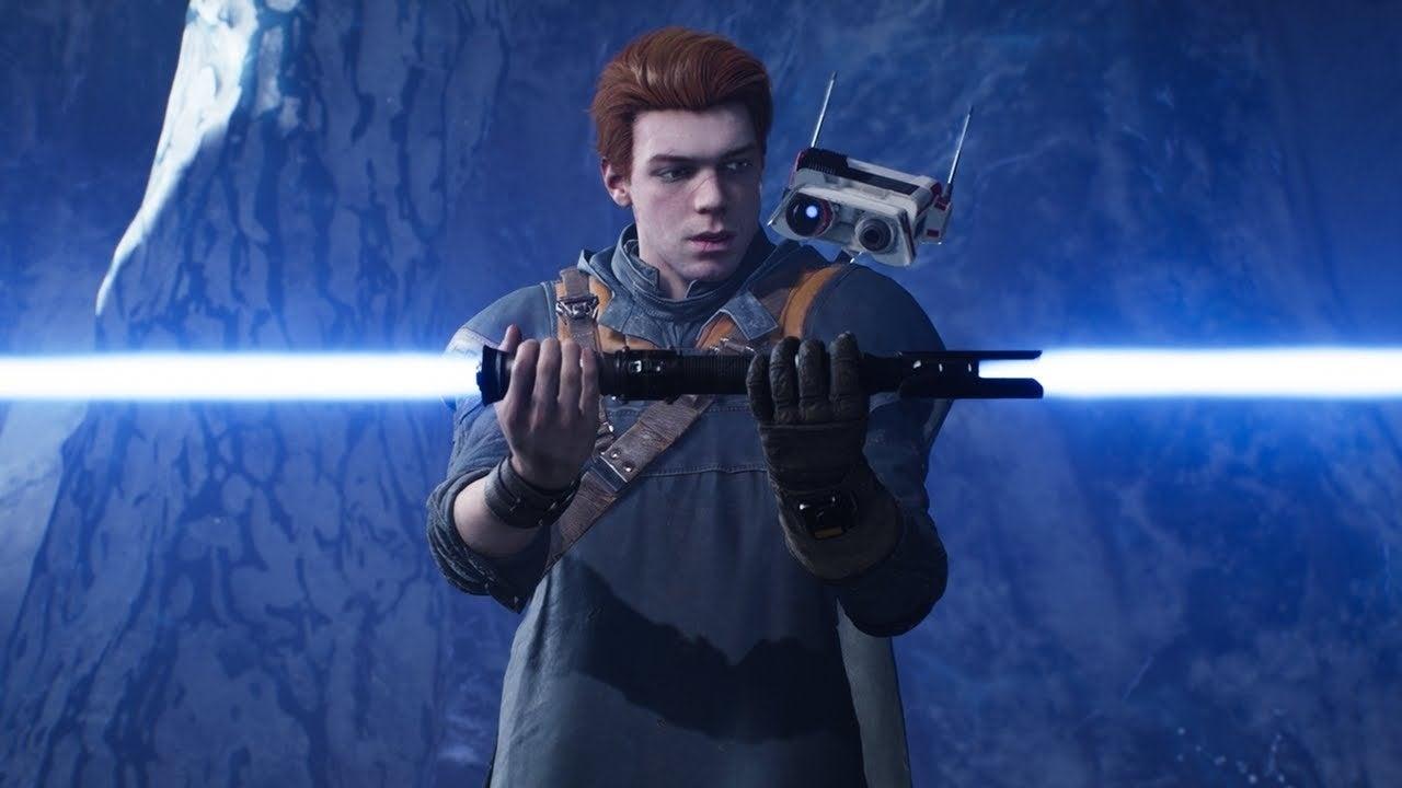 star wars video game lightsaber