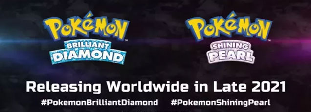 Pokemon Brilliant Diamond and Pokemon Shinning Pearl are coming to the Nintendo Switch late 2021