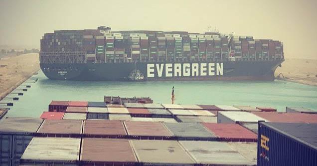 Cargo ship Ever Given blocks Suez Canal