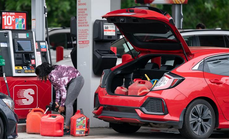 gasoline panic buying