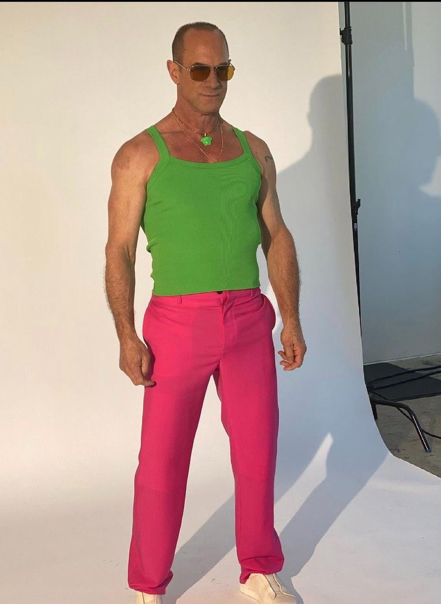 Christopher Meloni's Watermelon Cosplay
