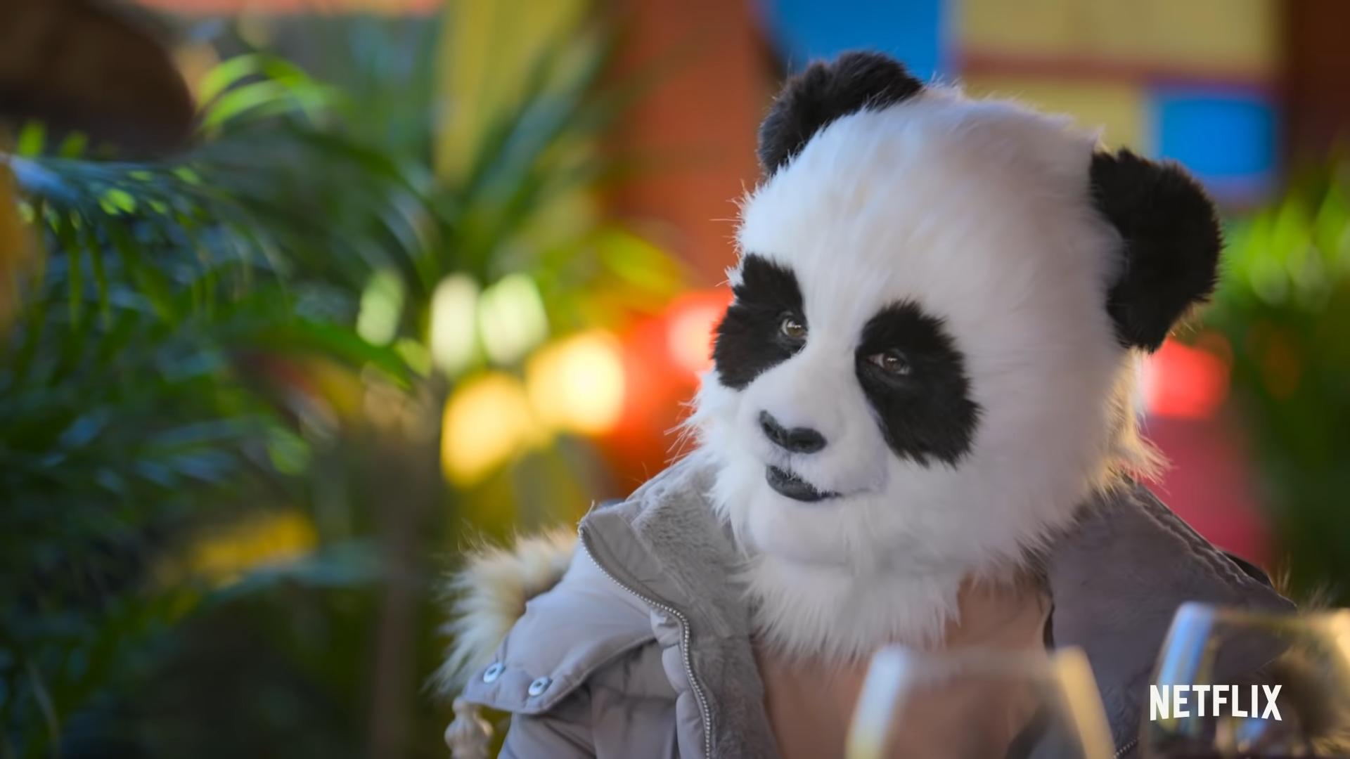 panda lady