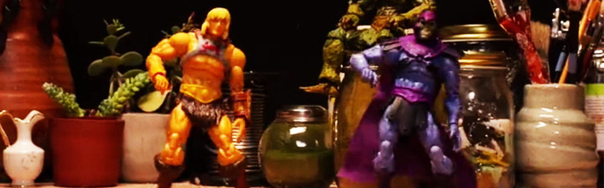 He-Man and Skeletor Stop-Motion Dance Off