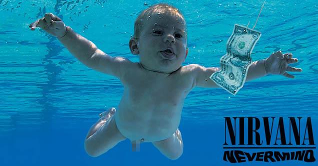 Nirvana 'Nevermind' album cover