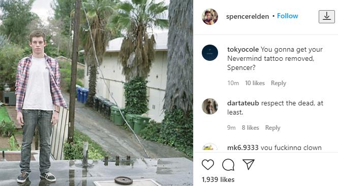 spencer elden instagram comments