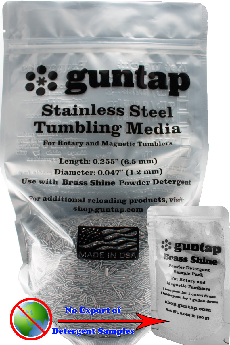 """30 Pounds Stainless Steel Tumbling Media Pins 30lb .047/"""" x .255/"""" Made in USA"""