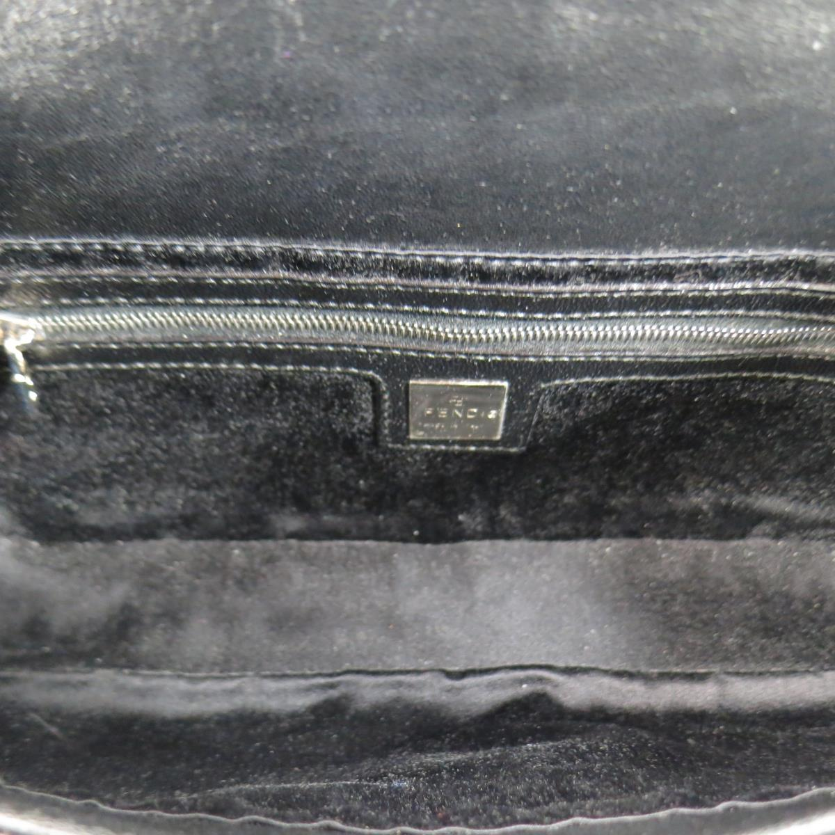 b6daba1cdbb5 Sui Generis Designer Consignment SAN FRANCISCO S FAVORITE DESIGNER  CONSIGNMENT STORES AND ONLINE SHOP. FENDI Black Leather Silver Enamel  Buckle Handbag