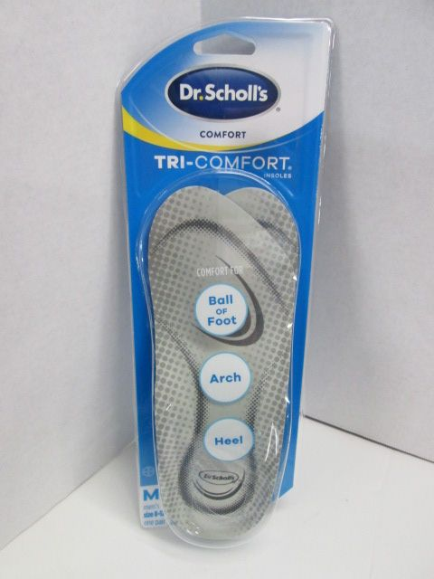 bb1b4f5985 Details about Dr Scholls Tri Comfort Orthotics Insoles BRAND NEW MENS 8-12
