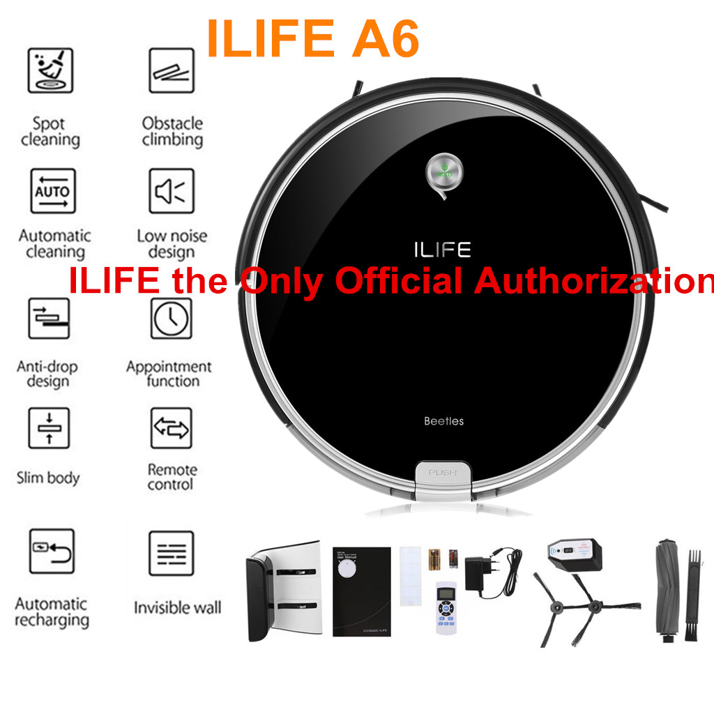 Ilife V5s Pro Smart Cleaning Robot Auto Robotic Vacuum Dry Wet Carpet Extractor Diagram And Parts List For Bissell Wetcarpetcleaner A6 Cleaner Intelligent Edge Automatic