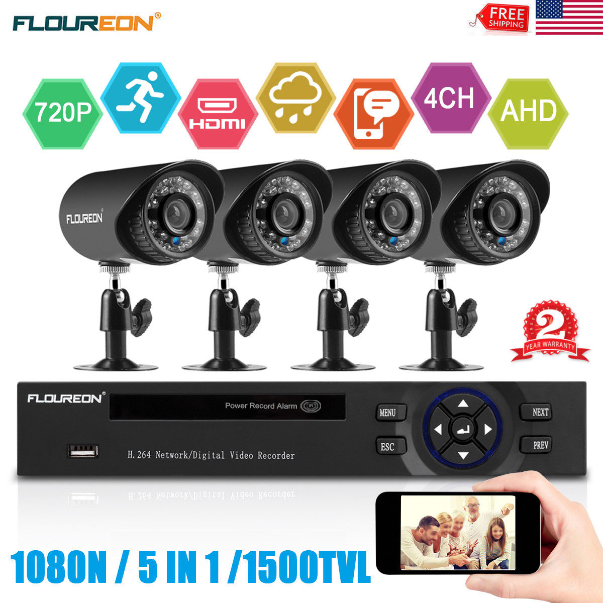1080P PTZ IP Camer 5X Optical ZOOM Dome 2 0MP P2P Night