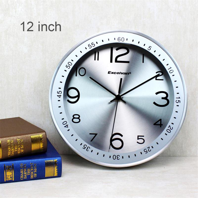 nice design quiet wall clock. Excelvan Silent Wall Clock 12  Metal Quiet Sweep Movement offers an extensive range of innovations designed product