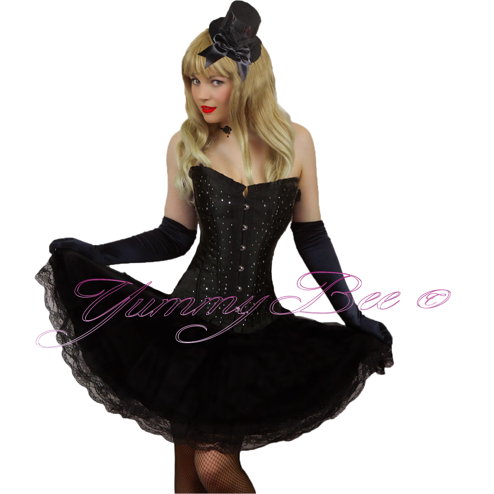 Fancy Dress With Corset