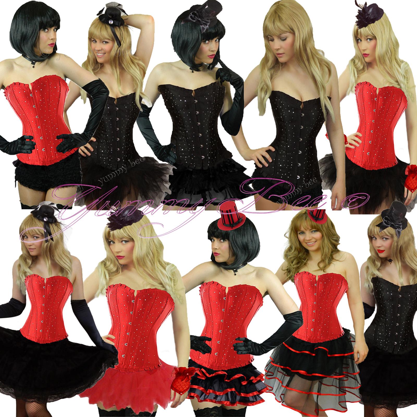 Plus size burlesque fancy dress costumes uk