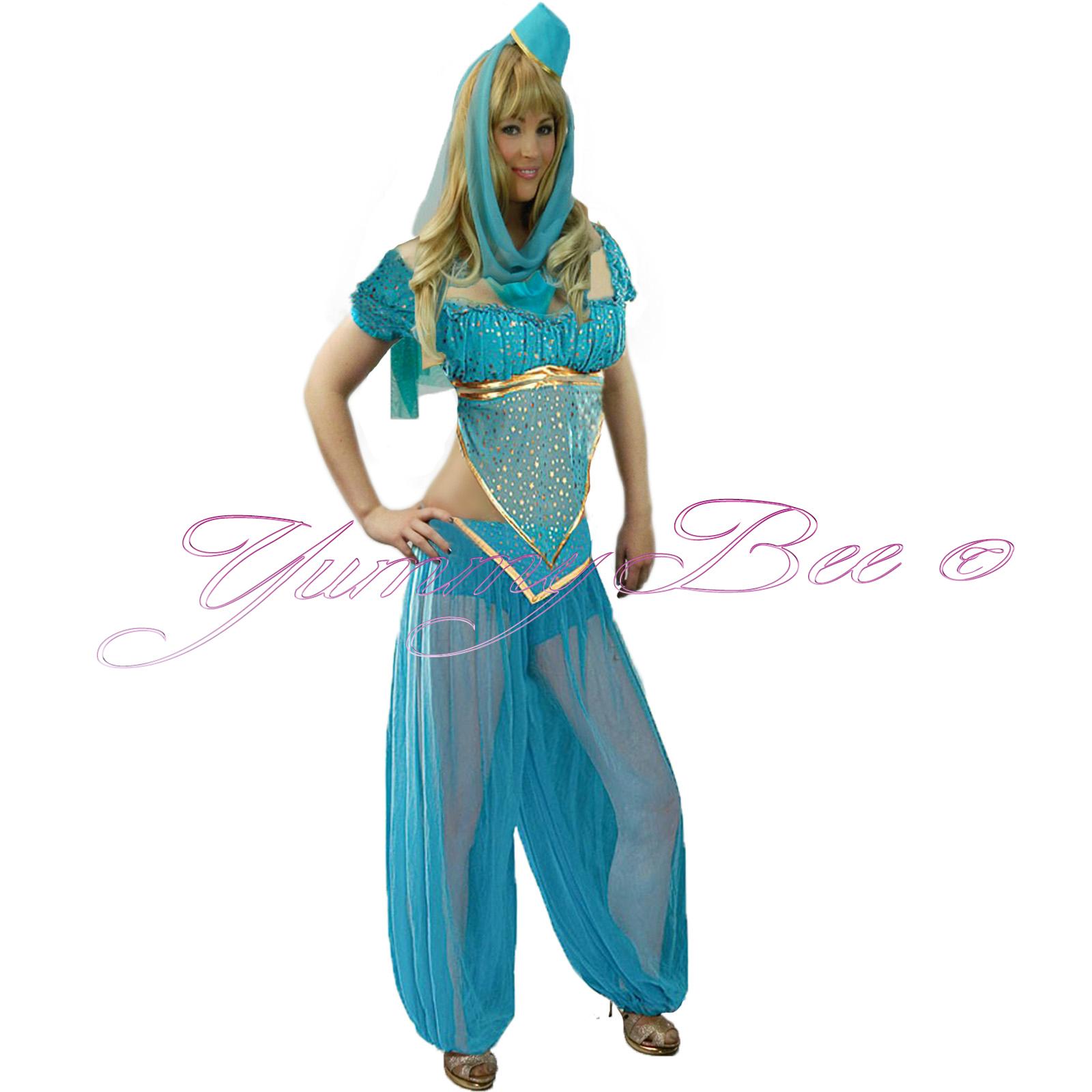 Fancy dress princess costume belly dancer arabian women bollywood yummy bee catch eyes in this enchanting arabian nights outfit solutioingenieria Gallery