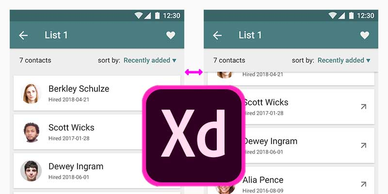 How to Prototype a Scroll Shadow in Adobe XD | BetaTesting Blog