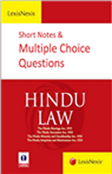 SHORT NOTES and MULTIPLE CHOICE QUESTIONS- Hindu Law - EBC Webstore