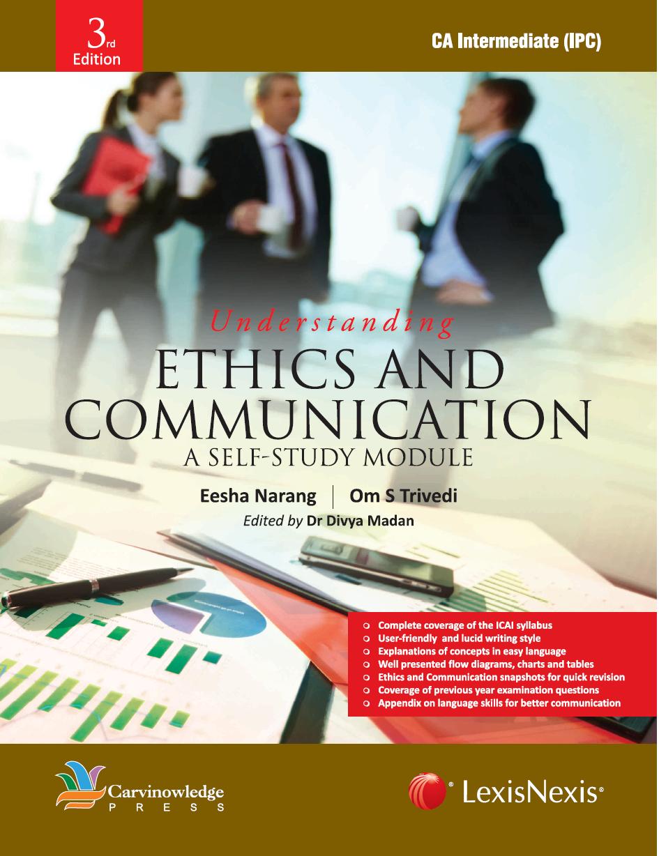 Ethics and communication - EBC Webstore