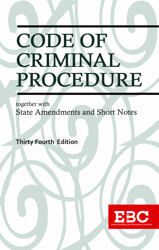 Code of Criminal Procedure, 1973[Amended up to Act 34 of 2019 and as 26-10-2020]Bare Act (Print/eBook)