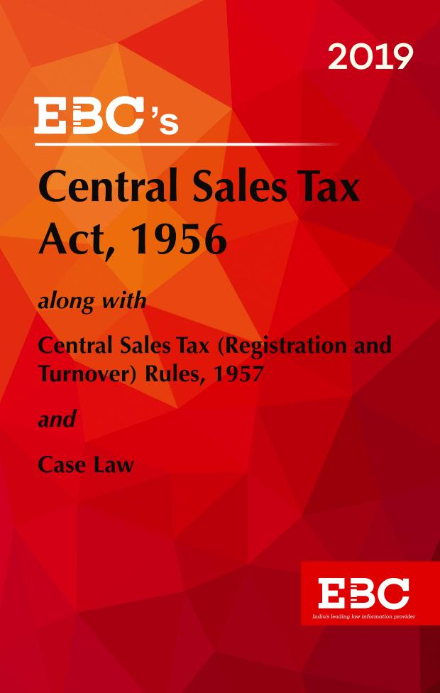 Central Sales Tax Act, 1956
