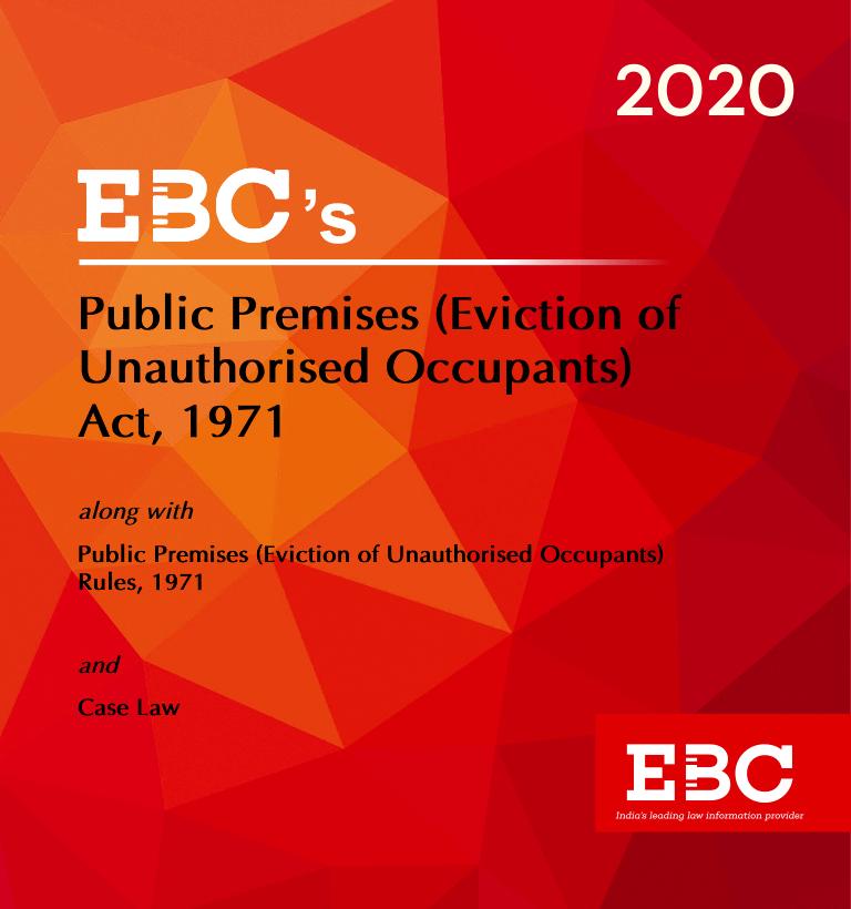 Public Premises (Eviction of Unauthorised Occupants) Act, 1971